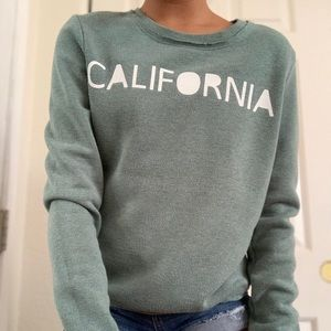 Green Cali sweater